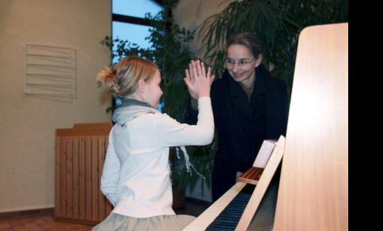 Zugeschnittener Klavierunterricht
